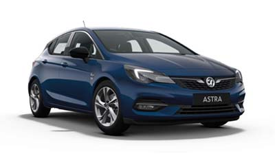 Vauxhall Astra - Available In Navy Blue