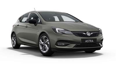 Vauxhall Astra - Available In Cosmic Grey