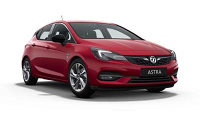 Vauxhall Astra - Available In Hot Red