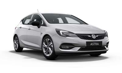 Vauxhall Astra - Available In Sovereign Silver