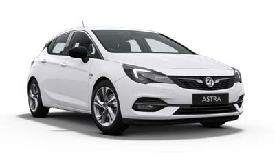 Vauxhall Astra - Available In Summit White