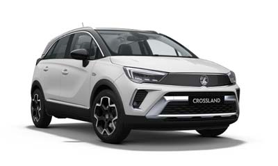 Vauxhall Crossland - Available In White Jade