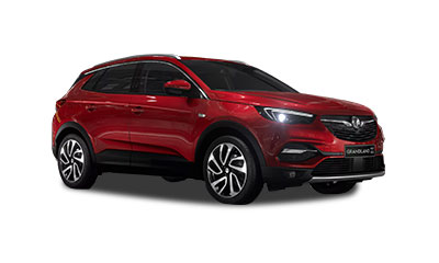 Vauxhall Grandland X - Available in Dark Ruby Red